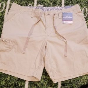 NWT Eddie Bauer Womens Adventurer Shorts